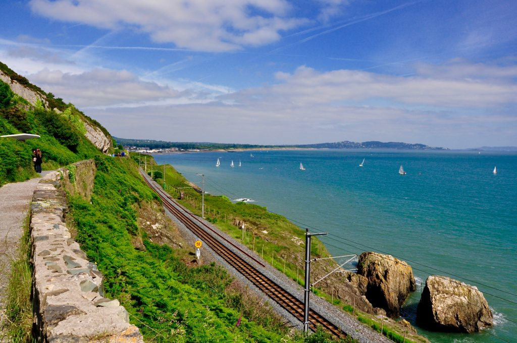 Bray, cliff walk