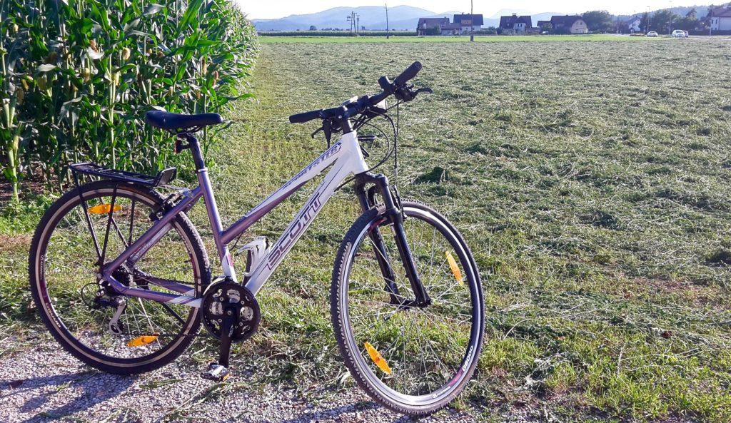 S kolesom iz službe