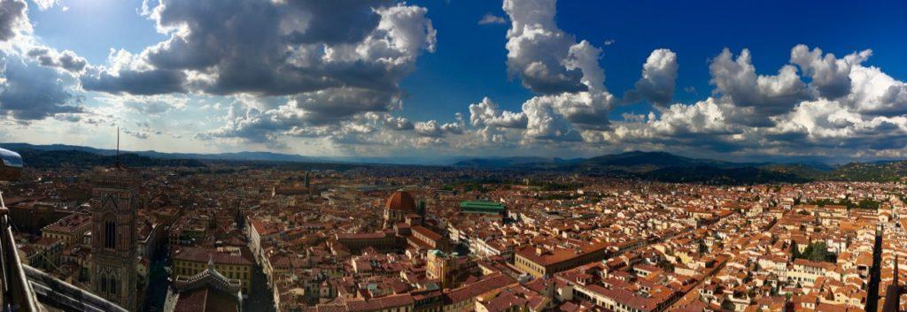 Firence, pogled z Duoma